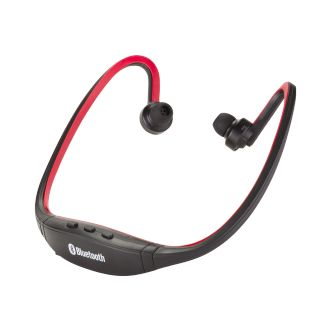Casque Bluetooth intra-auriculaire - Rouge