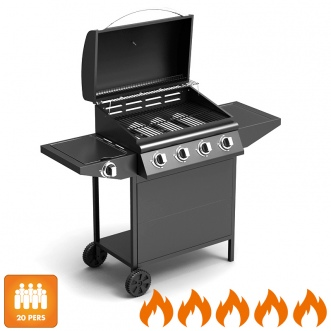 barbecue gaz bruleur lateral
